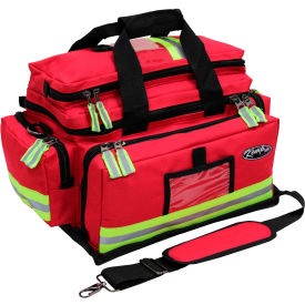 kemp large professional trauma bag, red, 10-104-red Kemp Large Professional Trauma Bag, Red, 10-104-RED
