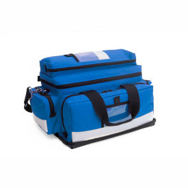 kemp large professional trauma bag, royal blue, 10-104-roy Kemp Large Professional Trauma Bag, Royal Blue, 10-104-ROY