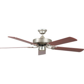 "concord 52"" california home collection dual mount ceiling fan 52ch5sn - satin nickel Concord 52"" California Home Collection Dual Mount Ceiling Fan 52CH5SN - Satin Nickel"
