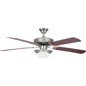 "concord 52"" heritage fusion energy star ceiling fan 52hef5esn-es - satin nickel Concord 52"" Heritage Fusion Energy Star Ceiling Fan 52HEF5ESN-ES - Satin Nickel"