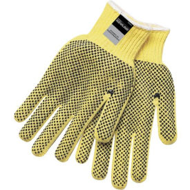 9366L Kevlar; Two-Sided PVC Dots Gloves, Memphis Glove 9366L, 1-Pair