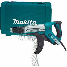 6844 Makita Autofeed Screwdriver, 3,000 RPM, Reversible, Case