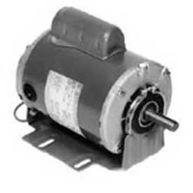 B319 Marathon Motors Fan Blower Motor, B319, 056C17D2074, 3/4HP, 1800RPM, 115/208-230V, 1PH, 56 FR, DP