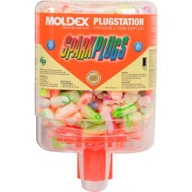 6644 Moldex 6644 SparkPlugs; PlugStation; Earplug Dispensers, 250 Pairs/Dispenser