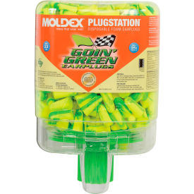 6646 Moldex 6646 Goin Green; PlugStation; Earplug Dispensers, 250 Pairs/Dispenser