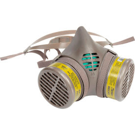 8602 Moldex 8602 8000 Series Multi-Gas/Vapor Smart; Cartridge Assembled Respirator, Medium, 1/Pack