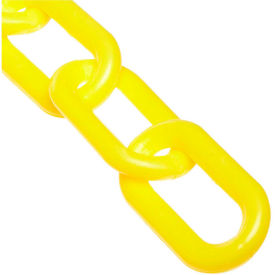 "51002-50 2"" Heavy Duty Plastic Chain, 50 Feet, Yellow"