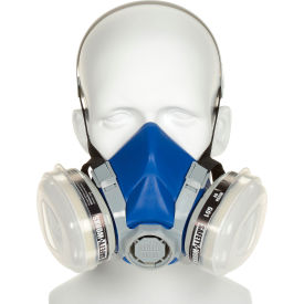 SWX00318 Safety Works SWX00318 Half-Mask Paint & Pesticide Respirator, Each