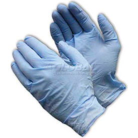 63-338PF/L PIP Ambi-Dex; 63-338PF Industrial Grade Disposable Nitrile Gloves, Powder-Free, Blu, L, 100/Box