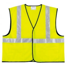 VCL2SLX4 Class II Economy Safety Vests, RIVER CITY VCL2SLX4, Size 4XL