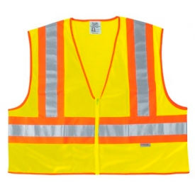 WCCL2LX2 Luminator; Class II Safety Vests, RIVER CITY WCCL2LX2, Size 2XL