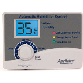 60 Aprilaire; Automatic Digital Humidity Control