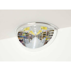 "PV48-180 See All; 180-Degree Acrylic Half Dome Mirror - Indoor, 48"" Diameter - PV48-180"
