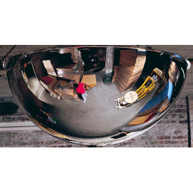 PVS24-360 See All; 360-Degree Steel Full Dome Mirror - Indoor, 24 Diameter - PVS24-360