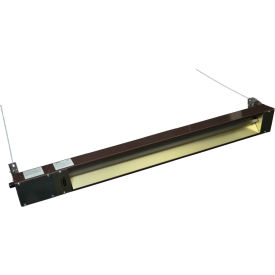 TPI Quartz Infrared Spot Heater  OCH-57-240VCE 2000W 240V With Cord - Brown
