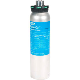 MSA Calibration Gas Cylinder, 34 Liter, Quad Mix for Altair®4X/5X, 10048280