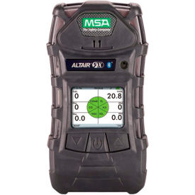 Altair® 5X Detector Mono, (LEL,O2,CO, H2S, SO2), UL, Charcoal, Instrument Only, 10116924