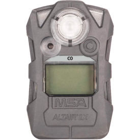 Altair® 2X Gas Detector, Carbon Monoxide CO, Gray, 10153986