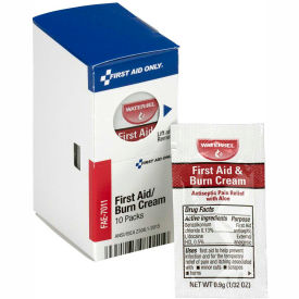 FAE-7011 First Aid Only FAE-7011 Burn Cream, 10 Packets/Box