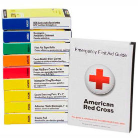 740010 First Aid Only 740010 ANSI Compliant First Aid Kit Refill for 10 Unit First Aid Kits
