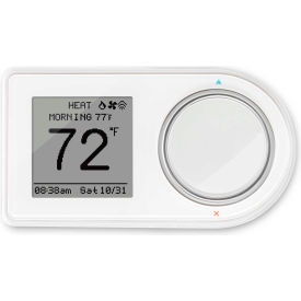 GEO-WH LUX Smart WiFi Thermostat GEO-WH Amazon Alexa & Google Home Compatible 2H/2C Programmable 24VAC