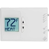 PSDH121B LUX Low Voltage Digital Non-Programmable Thermostat PSDH121B - 2 Stage Heat 1 Cool Heat Pump 24 VAC