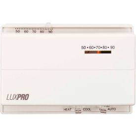 PSM400SA LUX Low Voltage Mechanical Non-Programmable Thermostat PSM400SA - 1 Stage Heat 1 Cool 24 VAC