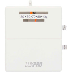 PSM40SA LUX Low Voltage Mechanical Non-Programmable Thermostat PSM40SA - 1 Stage Heat and Cool 24 VAC