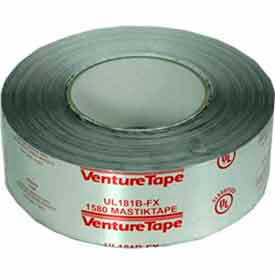70008900790 3M; VentureTape Duct Joint Sealing Mastik Tape, 2 IN x 100 FT, 1580 UL181B-FX