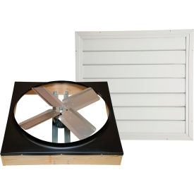 "CX302DDWT Cool Attic; 30"" Direct Drive Whole House Fan With Shutter"