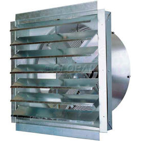 "IF30 MaxxAir; 30"" Heavy Duty Exhaust Fan With Integrated Shutter IF30 5500 CFM"