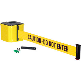 "wall mount retracta-belt® 4"" yellow, 30l yellow/black belt, ""caution - do not enter"" Wall Mount Retracta-Belt® 4"" Yellow, 30L Yellow/Black Belt, ""CAUTION - DO NOT ENTER"""