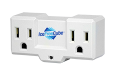 IFC12 THERMOSTAT ICEFREE CUBE  120V 15 AMP PLUG IN FIXED 35F on 45F off
