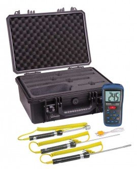 Thermocouple Thermometer Kit R2400, Reed Instruments, Thermometer, Thermocouple, Thermocouple Thermometer, Kit
