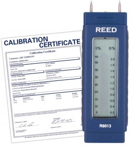 Pocket Size Moisture Detector, includes Traceable Certificate R6013, Reed Instruments, Moisture Meter, Moisture Detector