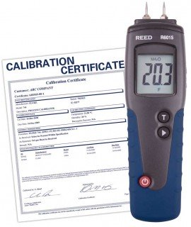 Wood Moisture Detector, includes Traceable Certificate R6015, Reed Instruments, Moisture Meter, Moisture Detector, Wood Moisture, Wood Moisture Detector