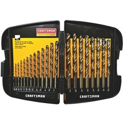 00964085CI Craftsman® Professional 21-Piece Drill Bit Set