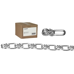 0741034CT Campbell® Lock Link Single Loop Chain, #1/0, Wrapped, 100, 1/Each