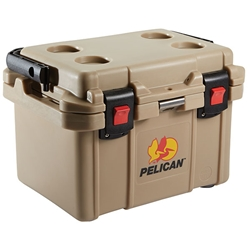 20QTTNP Pelican™ Elite Cooler, 20 qt, Tan, 1/Each