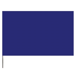 "Presco Standard Marking Flags, 21"", Blue, 1000/Case"