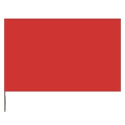 "Presco Standard Marking Flags, 21"", Red, 1000/Case"