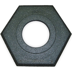 Recycled Rubber Base (for 0375216CSP), Black