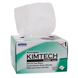 "34155KC Kimtech Science* Kimwipes* Wipers, 1-Ply, 4 3/8"" x 8 3/8"", White, 60 Boxes/280 Each"