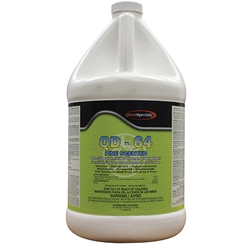 355415QC QuestSpecialty® QD-64 One Step Germicidal, Pine, 1 gal, 4/Case