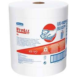 41025KC WypAll* X80 Towels, Jumbo Roll, White, 475/Roll