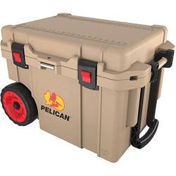 45QWTNP Pelican™ Elite Cooler (Wheeled), 45 qt, Tan, 1/Each