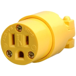 NEMA 5-15P Replaceable Male Plug