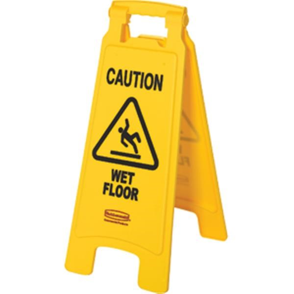 "Rubbermaid® ""Wet Floor"" Safety Sign"