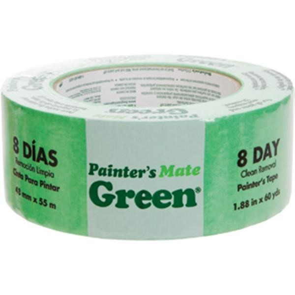 "Duck Brand® Painters Mate Green® Masking Tape, 1 7/8"" x 60 yd"