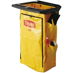 "6978YLTCP Trust® Polyliner w/ Side Bag, 30 1/2""H x 17 1/4""W x 10 1/2""D, Yellow, 1/Each"